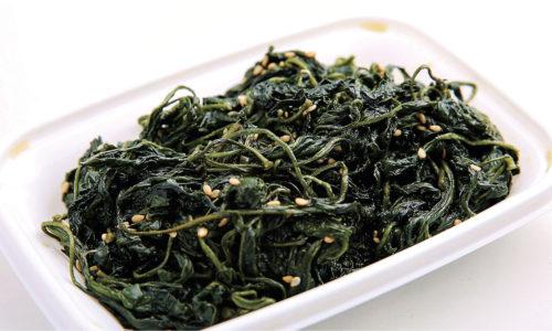 岩国市 魚新 ピーマンの葉 惣菜