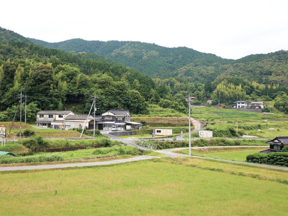 柳井市日積 田園地帯