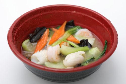 海鮮と野菜炒め