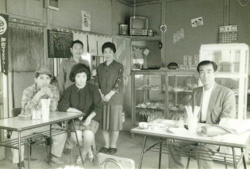 昭和37頃の店内
